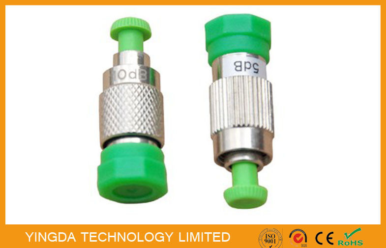 SC, LC , FC , ST, MU Female To Male Fiber Optic Attenuator Plug - in Type (FC APC F-M ) تامین کننده