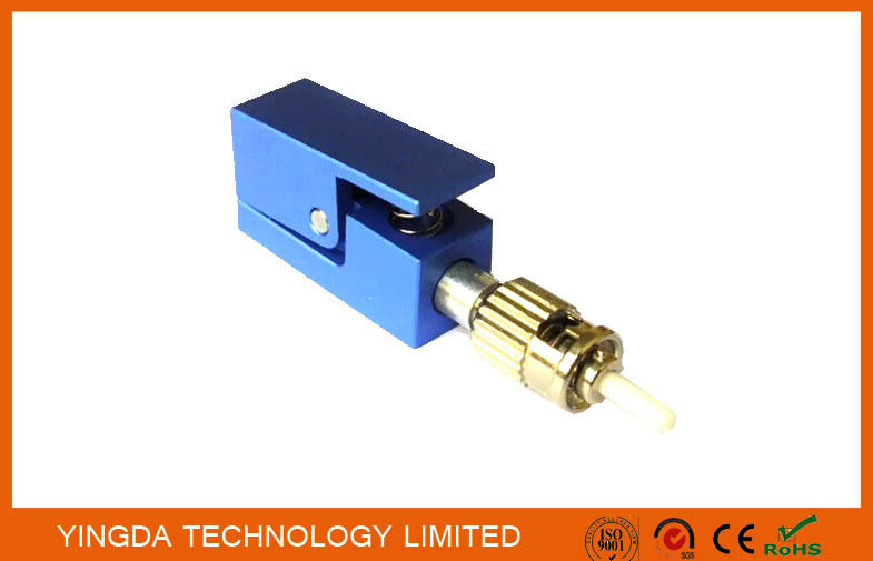 Blue Fiber Test ST / PC Bare Fiber Optic Adapter , ST Fiber Adapter Singlemode تامین کننده