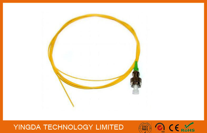 Pigtail OS1 FC APC Simplex SM 0.9mm 3Meter Fiber Optic Cable Yellow تامین کننده