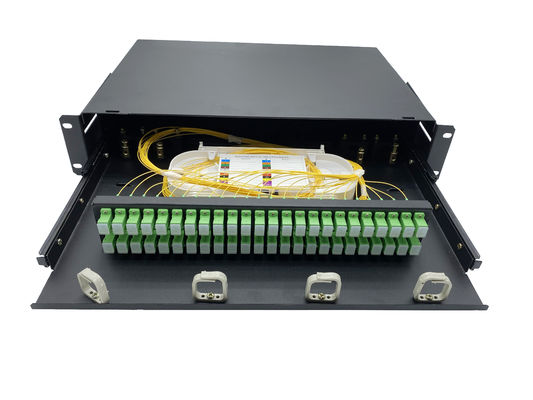 پانل فیبر نوری فیبر نوری Rack Mount 65dB